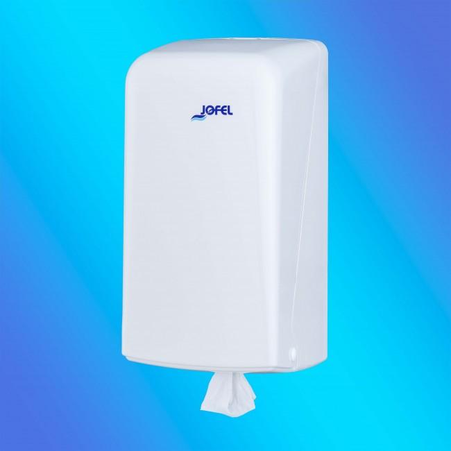 Jofel AG32000 mini belsőmagos fehér, műanyag papírtörlő adagoló